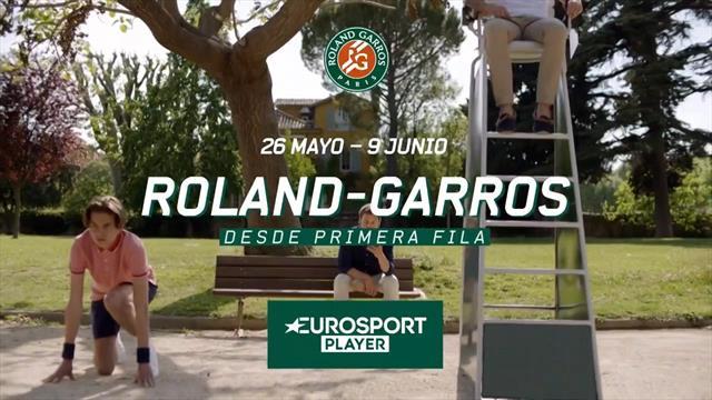 Disfruta Roland-Garros en Eurosport y Eurosport Player