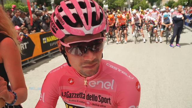 Kan Roglic de roze trui behouden tot aan Verona?