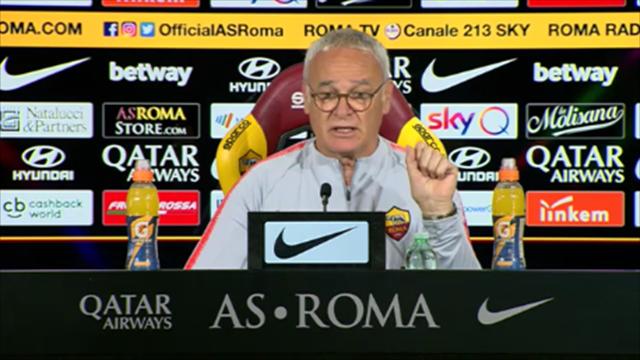 """Ranieri: """"Se fossi rimasto io, avrei voluto De Rossi perché so che giocatore, uomo e capitano è"""""""
