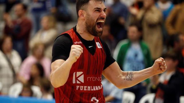 """Popovic: """"No quería acabar mi carrera en otro sitio que en Fuenlabrada"""""""