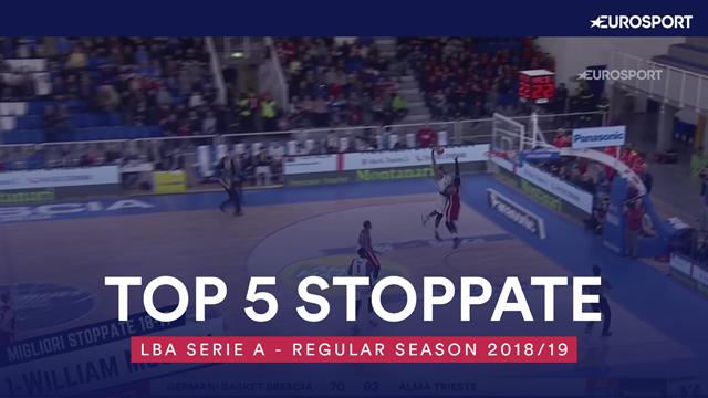 Top 5: le migliori stoppate della regular season di Serie A 2018-19