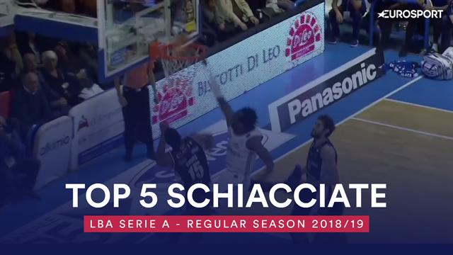 Top 5: le migliori schiacciate della regular season di Serie A 2018-19