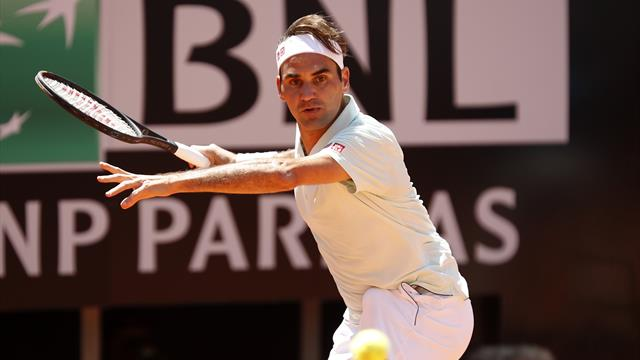 Masters Roma 2019, João Sousa-Roger Federer: Debut convincente y a toda pastilla (4-6 y 3-6)
