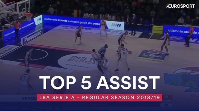Top 5: i migliori assist della regular season di Serie A 2018-19