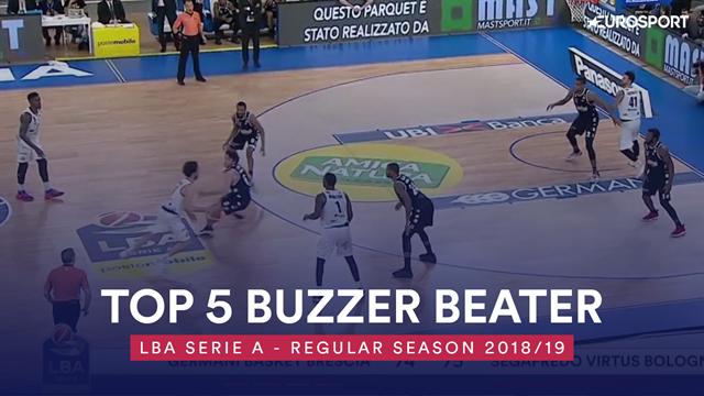 Top 5: i migliori buzzer beater della regular season di Serie A 2018-19