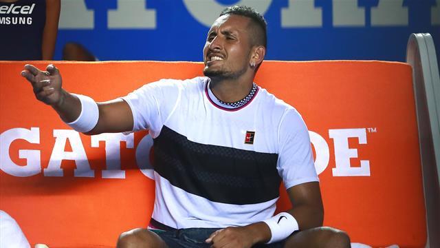 """""""Oberpeinlich"""": Kyrgios giftet gegen Djokovic und Nadal"""