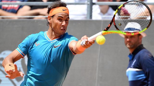 Masters Roma 2019, Jeremy Chardy-Rafa Nadal: Estreno con prisa y sin piedad (0-6 y 1-6)