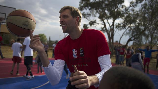 Nowitzki genießt den Basketball-Ruhestand und wird WM-Botschafter