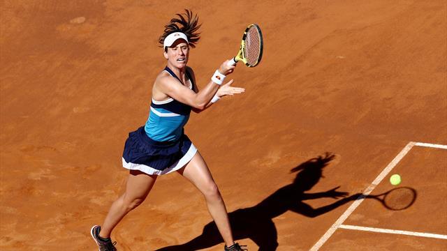 Konta beats Venus to reach Rome quarter-finals