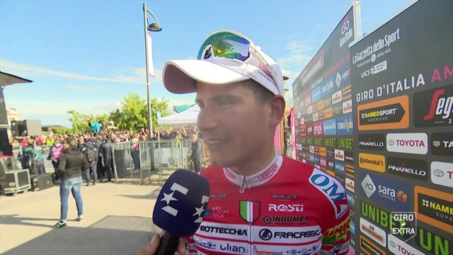 Masnada reflects on first Grand Tour stage victory