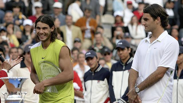 Le jour où Federer a failli battre Nadal en 5 sets sur terre battue au terme d'un immense combat
