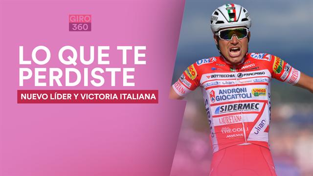 Giro de Italia 2019, lo que te has perdido (etapa 6): Un nuevo crack italiano y dos buenos sustos