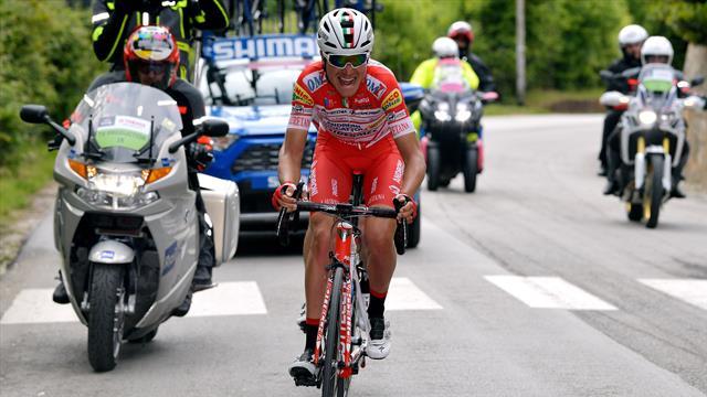 Маснада выиграл шестой этап «Джиро», Конти переместился на первое место в общем зачете
