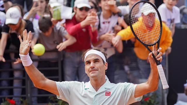 Federer a vu la sortie de près