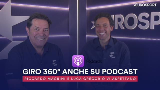 Giro 360° diventa Podcast! Tutti i post tappa su iTunes, Spotify e Soundcloud