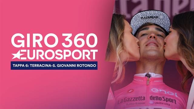 """""""Giro 360"""": Masnada vittoria, Conti baldoria... Tutto il meglio e il dietro le quinte della 6a tappa"""