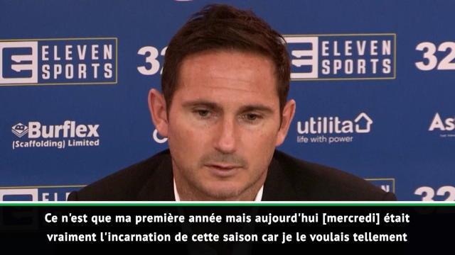 """Championship - Lampard : """"On le voulait tellement"""""""