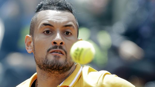 Kyrgios controversy and Federer fightback dominate dramatic day at Italian Open