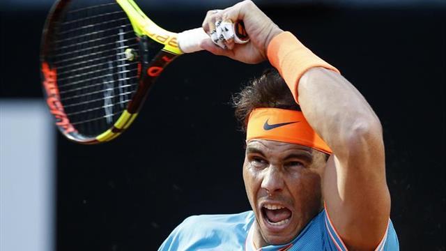 Nadal y Djokovic asustan, Federer se salva; caen Thiem, Halep y Garbiñe
