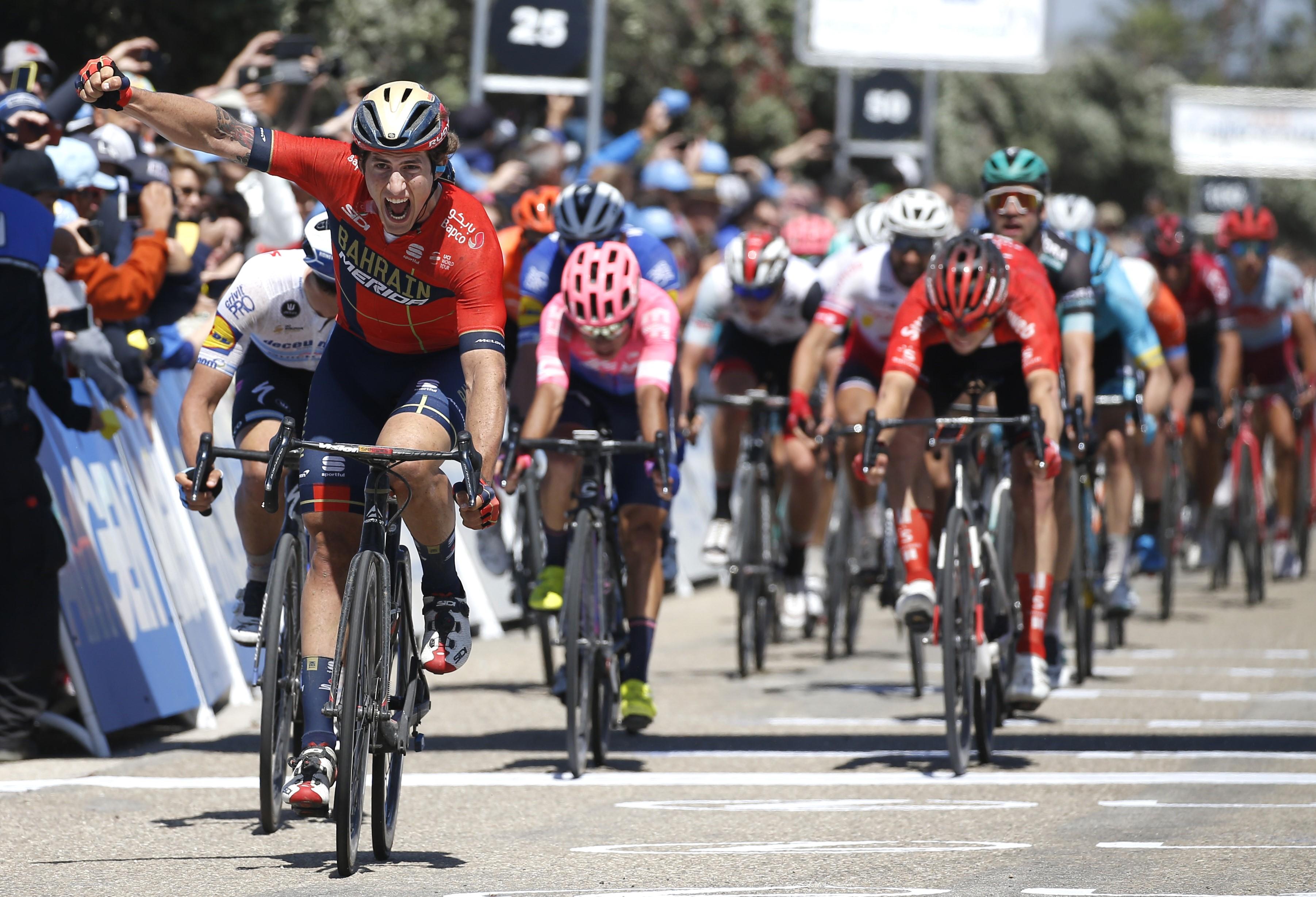 Ivan Garcia Cortina (Team Bahrain - Merida) vainqueur de la 5e étape du Tour de Californie 2019