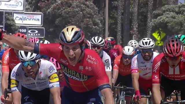 Tour of California: Cortina spurtet inn til seier på den femte etappen
