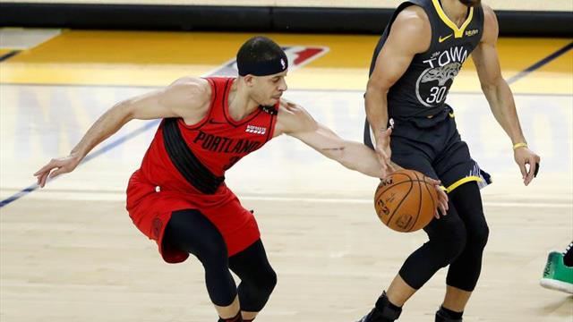 """Stephen Curry: """"Noche perfecta: mi hermano jugó bien, nosotros ganamos"""""""