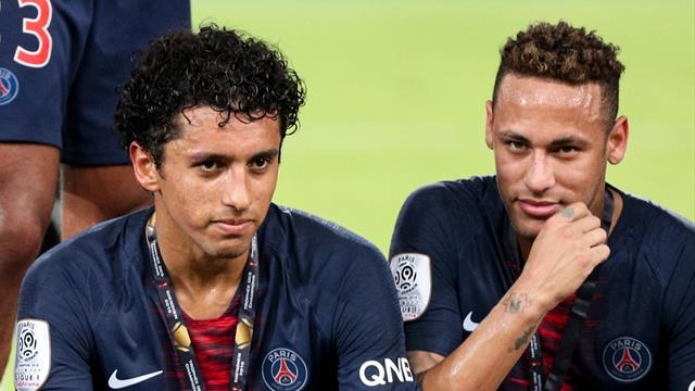 Marquinhos et Neymar seront bien de la fête au Parc
