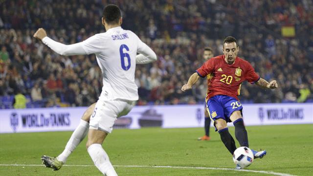 Santi Cazorla vuelve con España cuatro años después y Oyarzábal se estrena