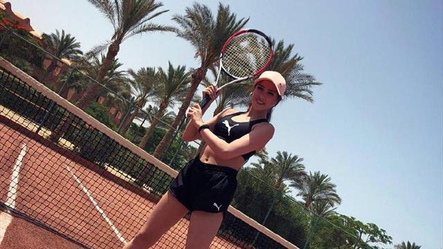 Обворожительная Загитова сменила вид спорта и готовится к теннисному грунтовому сезону