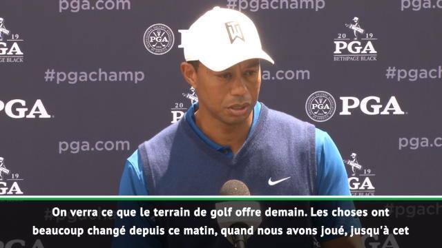 """Woods : """"Je ne me sentais pas bien"""""""