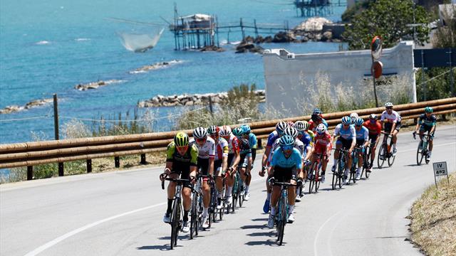 Giro-Strecke: Profil und Kurs der 8. Etappe nach Pesaro