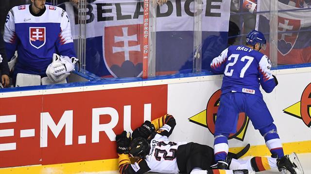 Eishockey-WM: Keine Sperre nach brutalem Foul an Seider