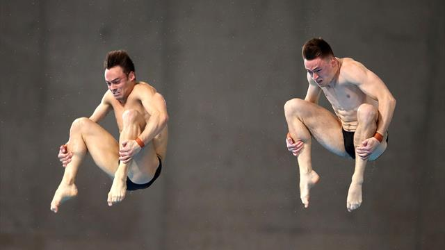 'Ridiculous!' - Daley and Lee seal gold medal at London Diving Series