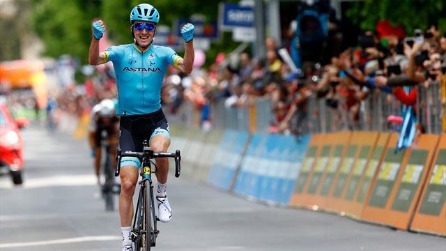 Bilbao bosses breakaway to win stage 7 as Conti retains maglia rosa
