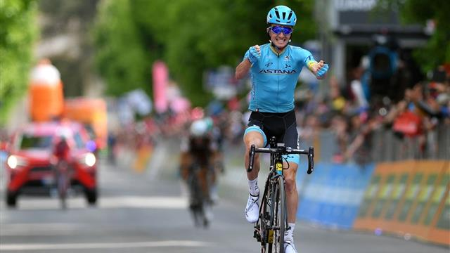 Giro de Italia 2019 (7ª etapa): Estratégica victoria de Pello Bilbao; Rojas rozó la maglia rosa