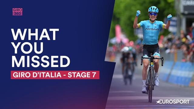 Cosa vi siete persi nella 7a tappa del Giro d'Italia: arriva la fuga e Bilbao ne approfitta