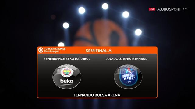 Highlights: Fenerbahce Beko-Anadolu Efes 73-92