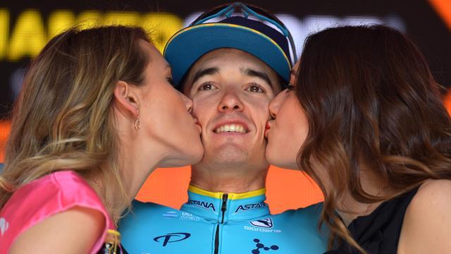 Гонщик Astana Pro Team Бильбао выиграл седьмой этап