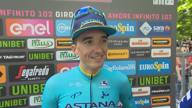 """Giro de Italia 2019, Pello Bilbao: """"Es un día muy especial, ha sido inesperado"""""""