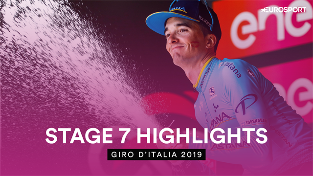Highlights - Fast and frantic Stage 7 ends in first win for Bilbao