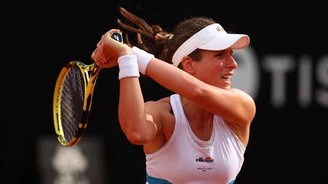 Johanna Konta en finale à Rome — WTA