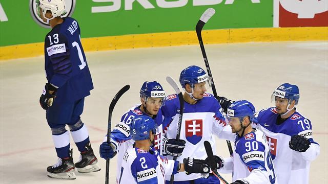 Eishockey-WM: Slowakei wahrt Viertelfinalchance