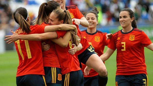 4-0. España vence con solvencia a Camerún