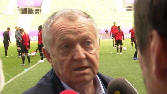 "LdC (F) - Aulas : ""Il faudra un grand Olympique Lyonnais"""