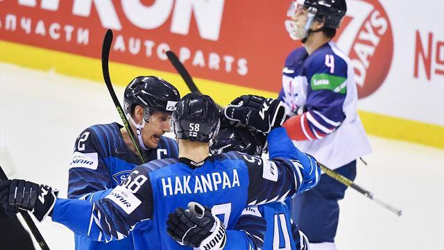 Eishockey-WM: Finnland überholt DEB-Team