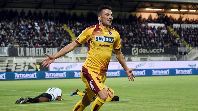 Moncini regala al Cittadella la semifinale playoff: doppietta e 1-2 allo Spezia