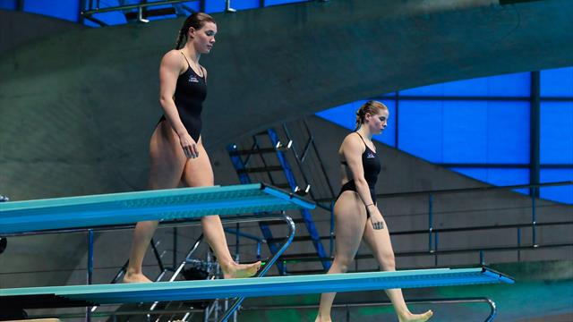Fourth and fifth for the Brits in the 3m Synchro
