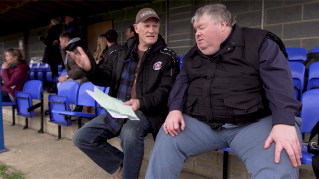 The incredible story of blind football groundhopper John Stancombe
