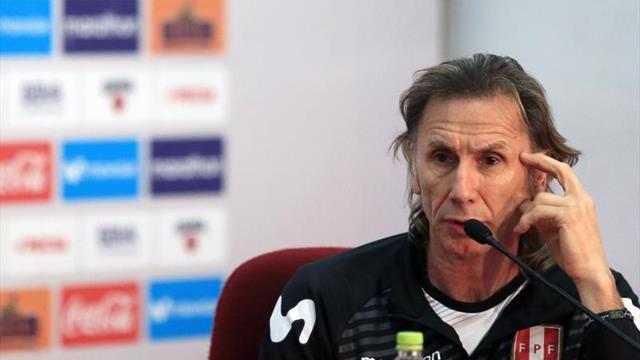 Gareca espera que la experiencia de Perú les permita crecer en la Copa América