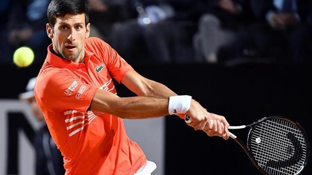 Djokovic salva dos bolas de partido ante un gran Del Potro y se mete en semis